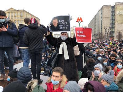 Фото twitter-сторінка Штабу Навального у Москві